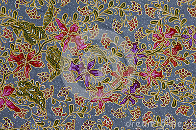 Batik Pattern, Indonesia Stock Photo - Image: 28481170