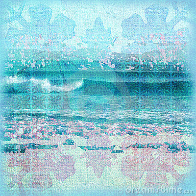 Batik Surf Background