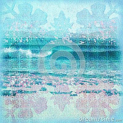 Batik Surf Background