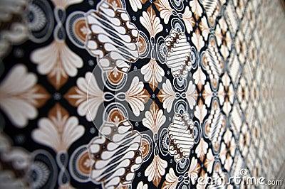 Batik Texture (Blur)