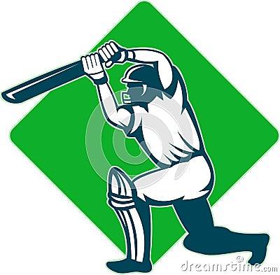 Batsman batting
