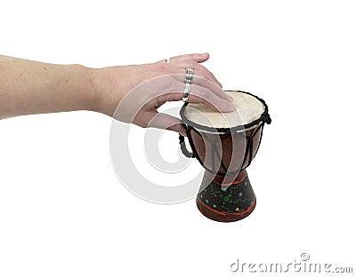 Battement d un tambour différent