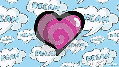 Battement de coeur dans les rêves clips vidéos