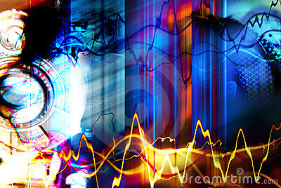 Battement de jazz de Techno
