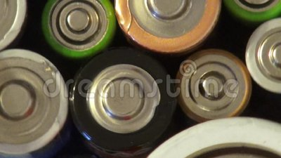 Batterie, Batterien, Strom, Energie stock video