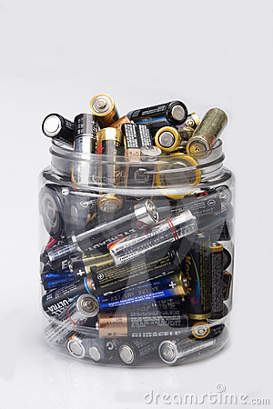 Batteries Editorial Stock Photo