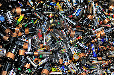 Batteries Editorial Image