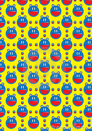 Battery Cat Seamless Pattern_eps