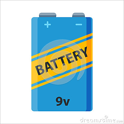 Battery energy electricity tool vector illustration. Vector Illustration