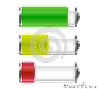 Free Battery Energy Levels Stock Image - 6929951