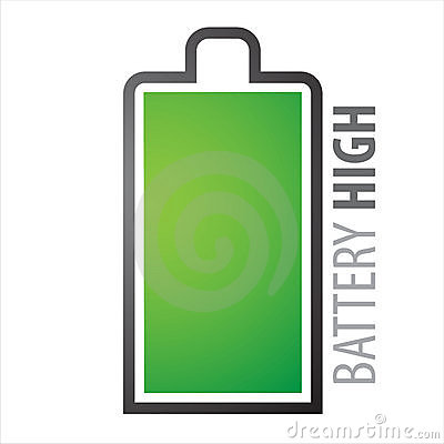 Free Battery Full Royalty Free Stock Photography - 9641677