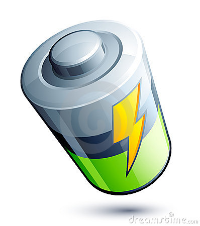 Free Battery Icon Royalty Free Stock Image - 8702066