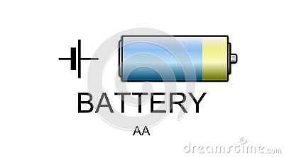 Battery icon and symbol