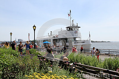 Battery Park NYC Editorial Stock Image