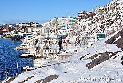 The Battery St Johns city