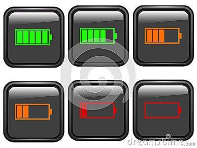 Battery symbols