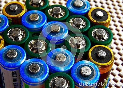 Battery tops