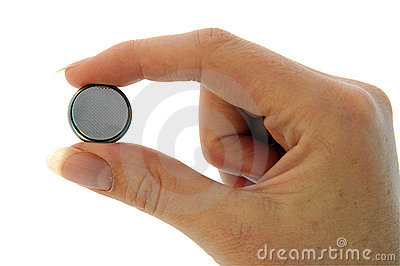Battery - Watch Battery (CR2025) - pinch - minus