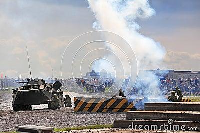 Battle Editorial Image
