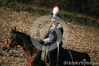 Battle at Austerlitz 2009 Editorial Photo