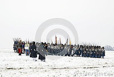 Battle for Austerlitz Editorial Image