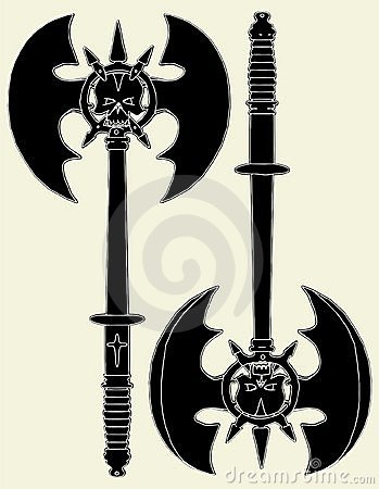 Battle Axe Vector 02