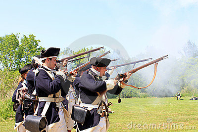 Battle of Black Creek Editorial Stock Image