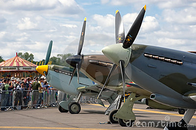 Battle of britain fighters Editorial Photography