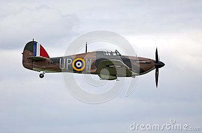 Battle of Britain Hurricane Editorial Stock Photo