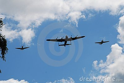 Battle of Britain Memorial Flight Editorial Photography