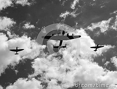 Battle of Britain Memorial Flight Editorial Stock Image