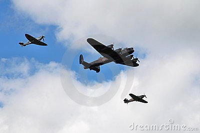 Battle of Britain Memorial Flight Editorial Photo