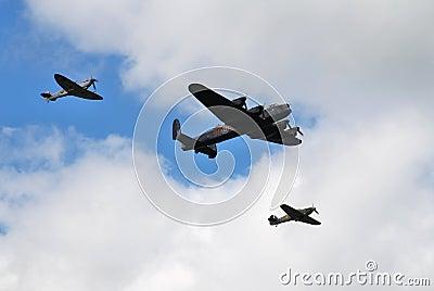 Battle of Britain Memorial Flight Editorial Photo
