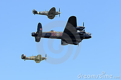 Battle of Britain Memorial Flight Editorial Stock Photo