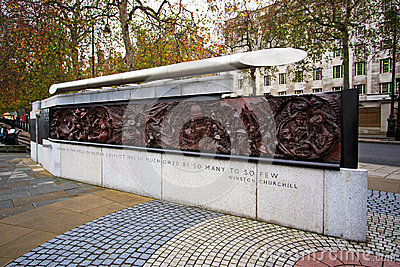 Battle of Britain Memorial, London UK