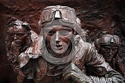 Battle of Britain Memorial, London UK