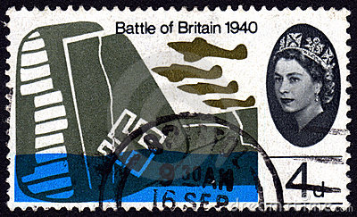 Battle of Britain, UK postage stamp