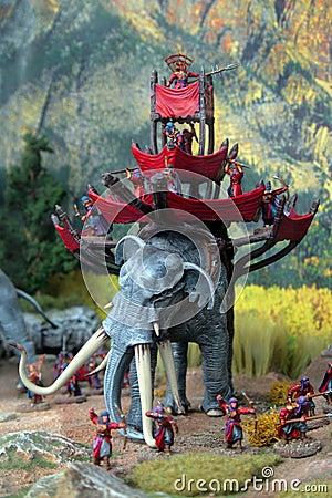 Free Battle Elephant Stock Photos - 6113023