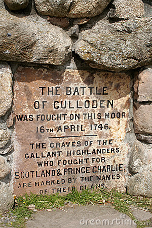 Free Battle Of Culloden Monument Royalty Free Stock Images - 3397839
