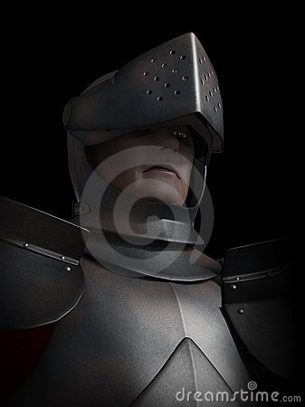 Battle Scarred Knight Portrait