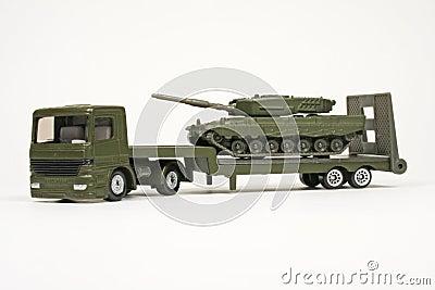 Battle Tank Transporter