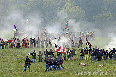 Battle of Tunnel Hill GA Editorial Stock Photo