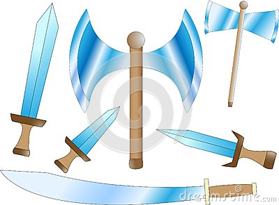 Battle weapons