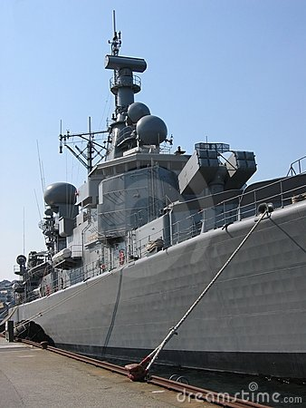Free Battleship Stock Photography - 752132