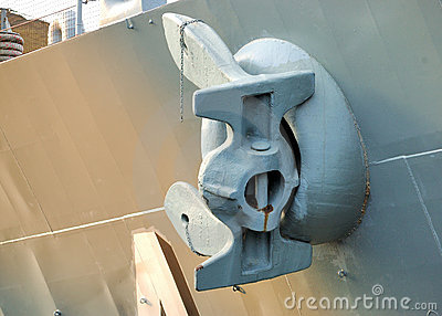 Battleship Anchor