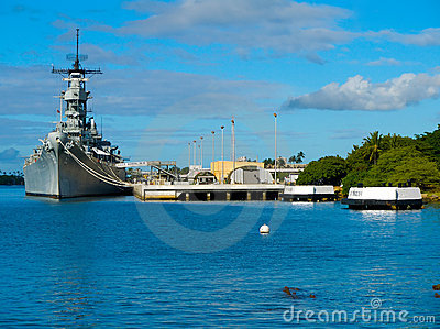 Battleship Memorial at Pearl Harbor