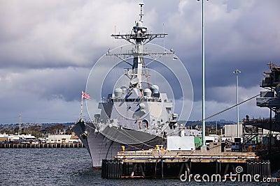 Battleship in San Diego