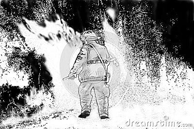 Battling a Fire