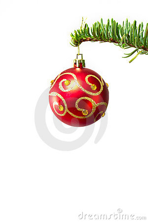 Bauble on the Christmas tree