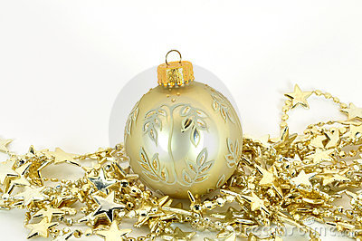 Bauble with stars